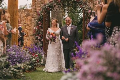casamento ao ar livre no lago buriti